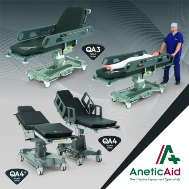Quality British-made trolleys from Anetic Aid