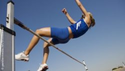 Image: High jump of an athlete; Copyright: panthermedia.net/Moodbaord