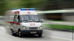Image: Ambulance on the road; Copyright: PantherMedia / inhabitant