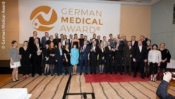 Image: Participants of the German Medical Award 2018; Copyright: German Medical Award