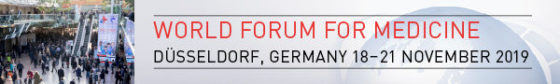Image: 18 to 21 November 2019, MEDICA - World Forum for Medicine in Düsseldorf